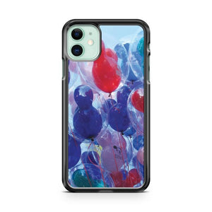 Disney Winnie The Poohblue balloons pooh bear iphone 5/6/7/8/X/XS/XR/11 pro case cover