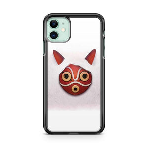 Princess Mononoke Mask White iphone 5/6/7/8/X/XS/XR/11 pro case cover