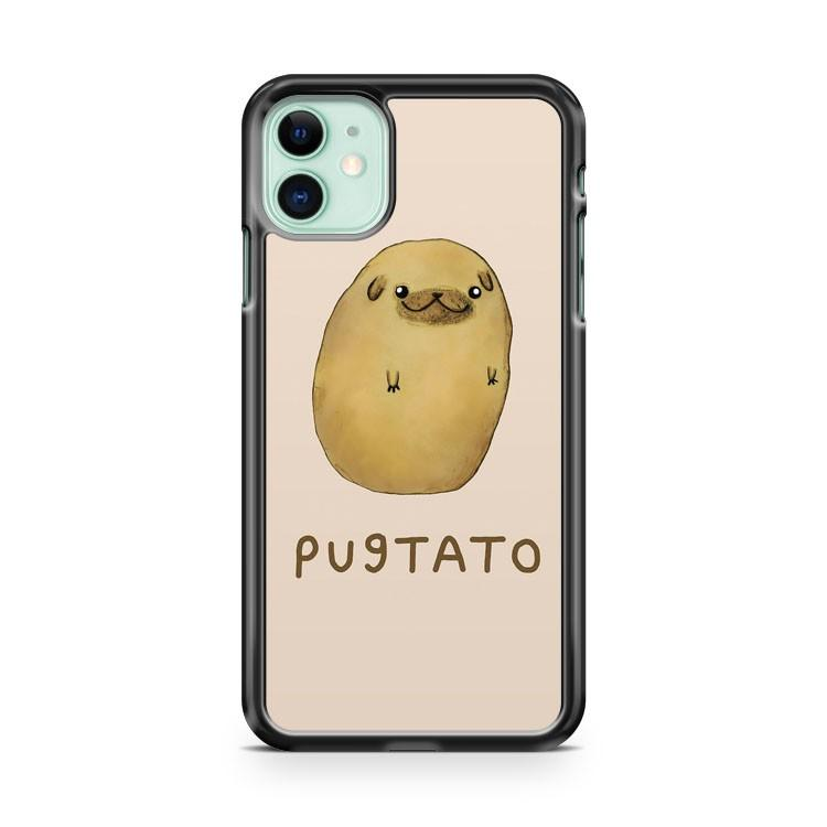 PUGTATO iphone 5/6/7/8/X/XS/XR/11 pro case cover