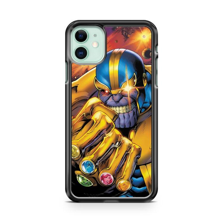 Thanos Avengers Endgame iphone 5/6/7/8/X/XS/XR/11 pro case cover