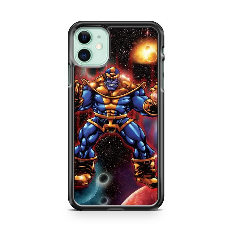 Thanos Marvel iphone 5/6/7/8/X/XS/XR/11 pro case cover