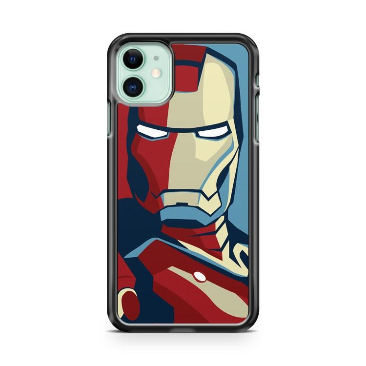 The Avengers Iron Man iphone 5/6/7/8/X/XS/XR/11 pro case cover