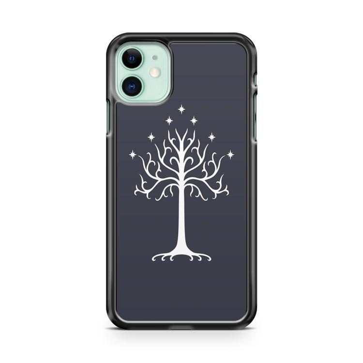 White Tree Of Gondor iphone 5/6/7/8/X/XS/XR/11 pro case cover