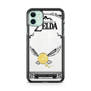 ZELDA LEGEND FAIRY NAVI DOODLE iphone 5/6/7/8/X/XS/XR/11 pro case cover