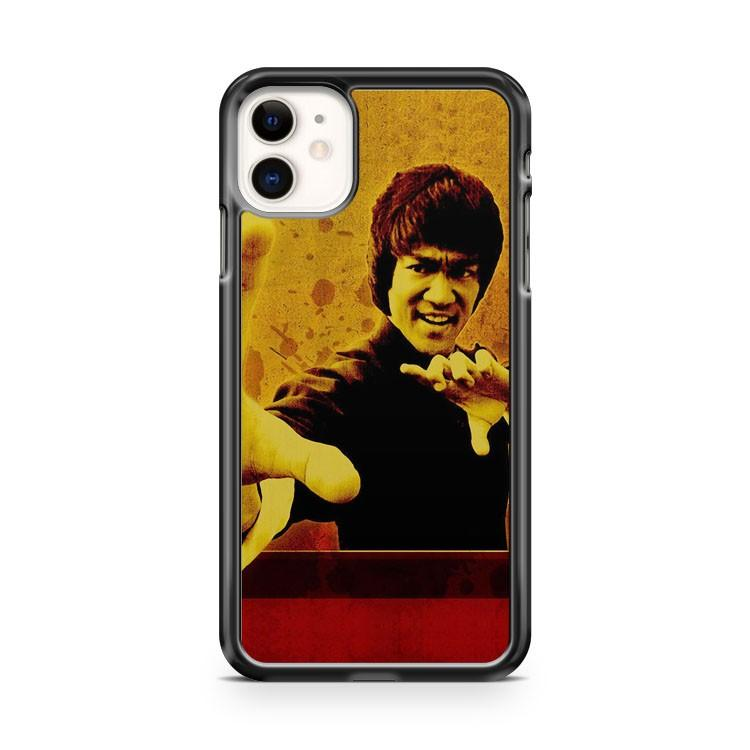 Bruce Lee The Dragon iphone 5/6/7/8/X/XS/XR/11 pro case cover - Goldufo Case