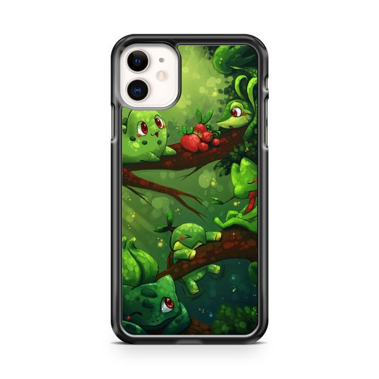 BULBASAUR AND MORE PLANT POKEMON ART iphone 5/6/7/8/X/XS/XR/11 pro case cover