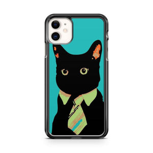 Business Cat iphone 5/6/7/8/X/XS/XR/11 pro case cover