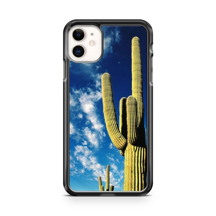 cactus thorns desert sky clouds iphone 5/6/7/8/X/XS/XR/11 pro case cover