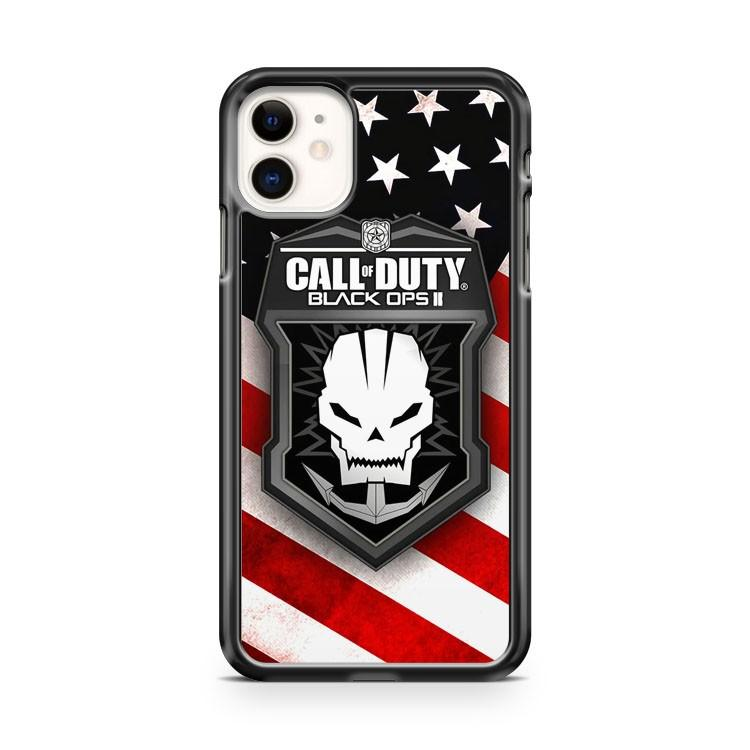 Call Of Duty Black Ops II Flag american country iphone 5/6/7/8/X/XS/XR/11 pro case cover