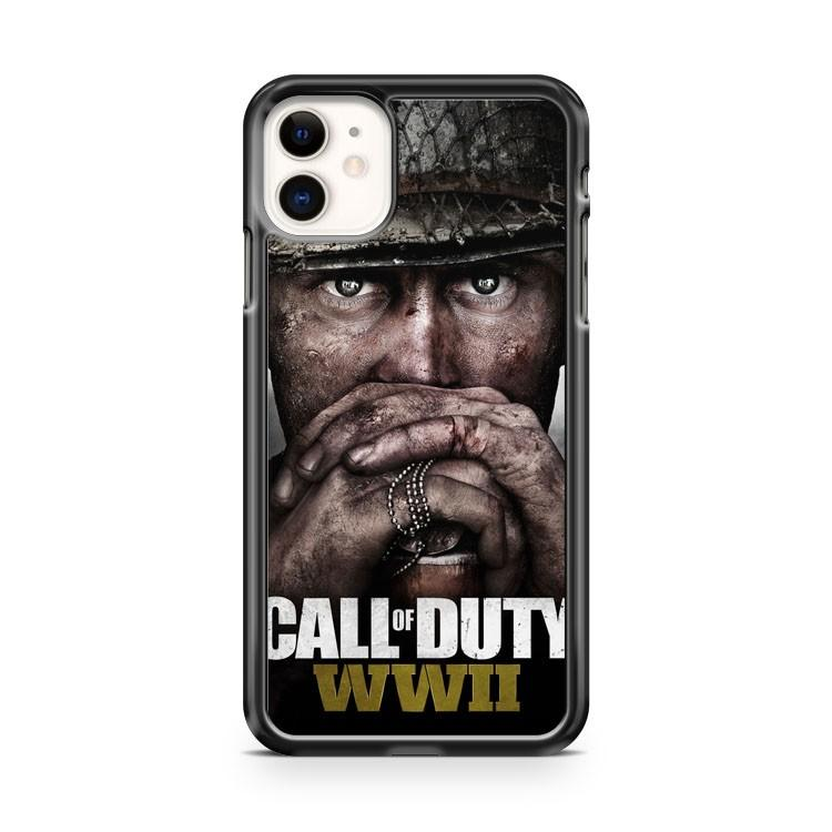 call of duty WWII 2 iphone 5/6/7/8/X/XS/XR/11 pro case cover