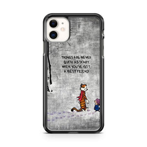 Calvin and Hobbes quote Dangerdust iphone 5/6/7/8/X/XS/XR/11 pro case cover