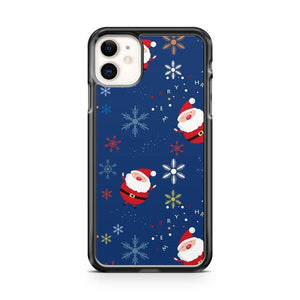 Christmas Pattern Santa Claus iphone 5/6/7/8/X/XS/XR/11 pro case cover