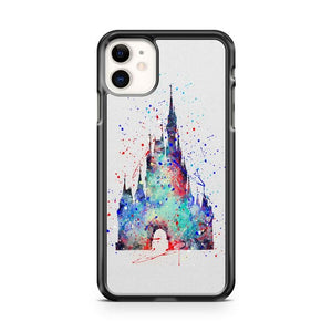 cinderella castle abstract 2 iphone 5/6/7/8/X/XS/XR/11 pro case cover
