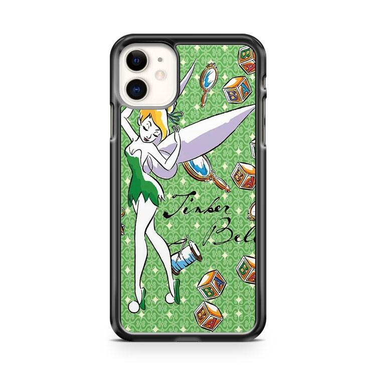 Disney Tinker Bell Leaping Wonder Beautiful Castle iphone 5/6/7/8/X/XS/XR/11 pro case cover