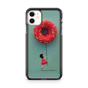 Donut Look At Me 2 iphone 5/6/7/8/X/XS/XR/11 pro case cover