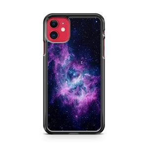 Galaxy Purple nabula iphone 5/6/7/8/X/XS/XR/11 pro case cover