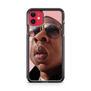 jay z art iphone 5/6/7/8/X/XS/XR/11 pro case cover