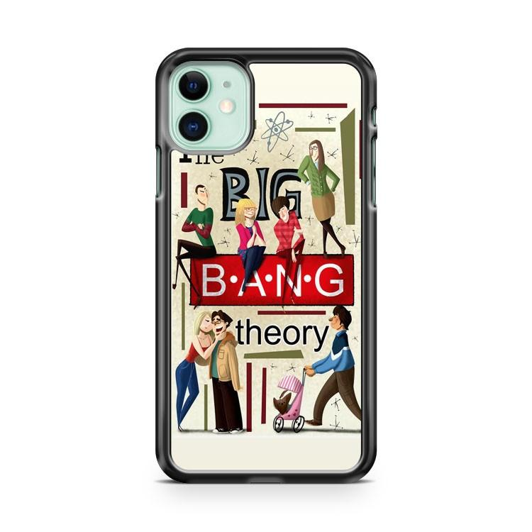 The Big Bang Bazinga iphone 5/6/7/8/X/XS/XR/11 pro case cover