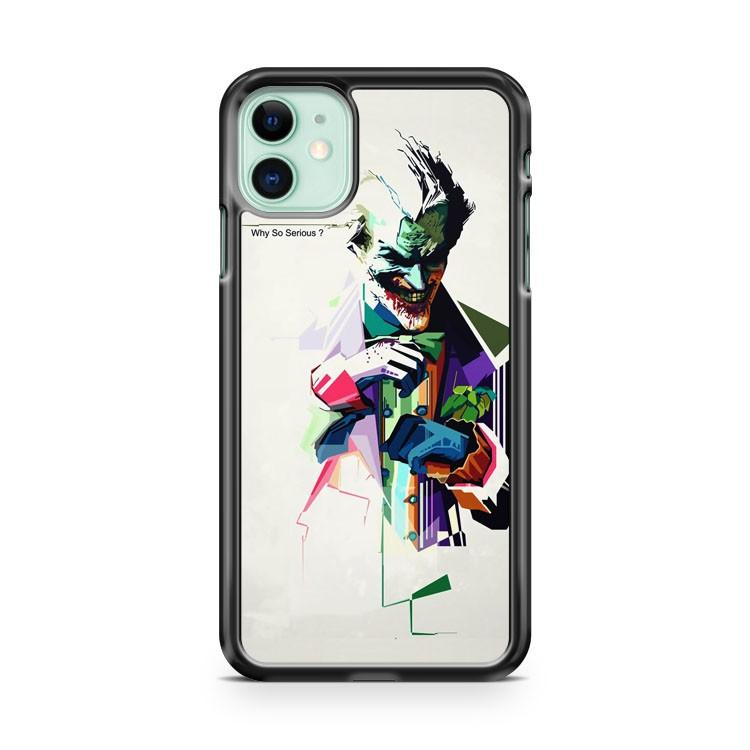 Why So Serious joker iphone 5/6/7/8/X/XS/XR/11 pro case cover