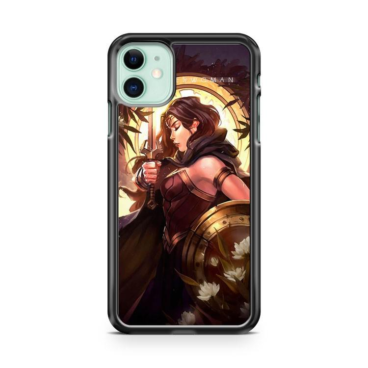 Wonder Woman Fan Art iphone 5/6/7/8/X/XS/XR/11 pro case cover
