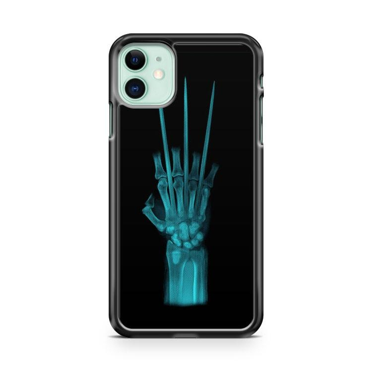 X Ray Wolverine awesome iphone 5/6/7/8/X/XS/XR/11 pro case cover