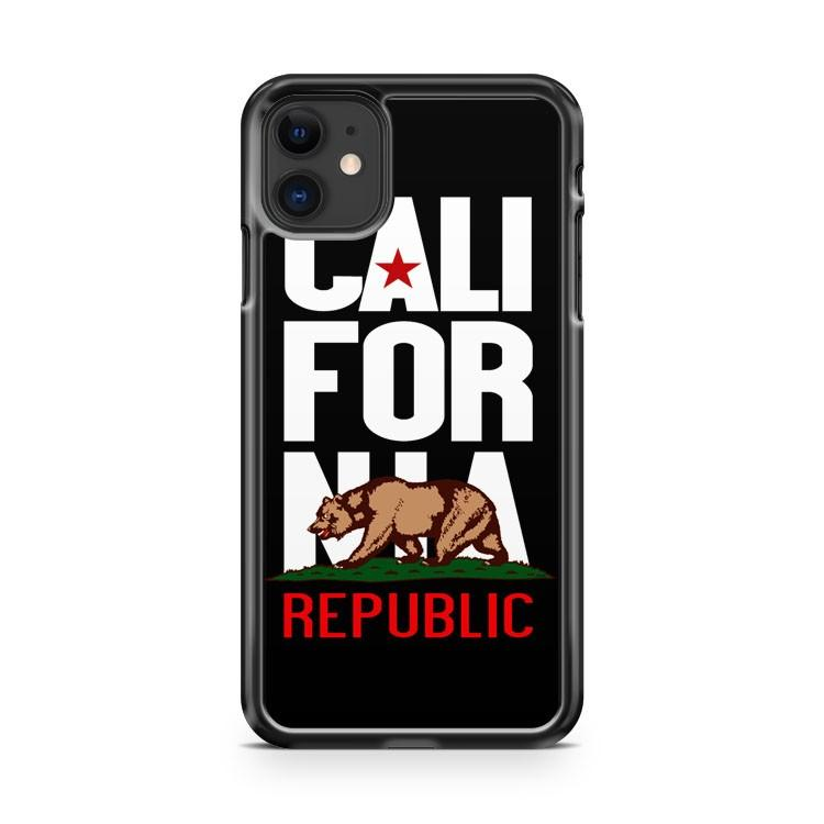 CALIFORNIA REPUBLIC iphone 5/6/7/8/X/XS/XR/11 pro case cover