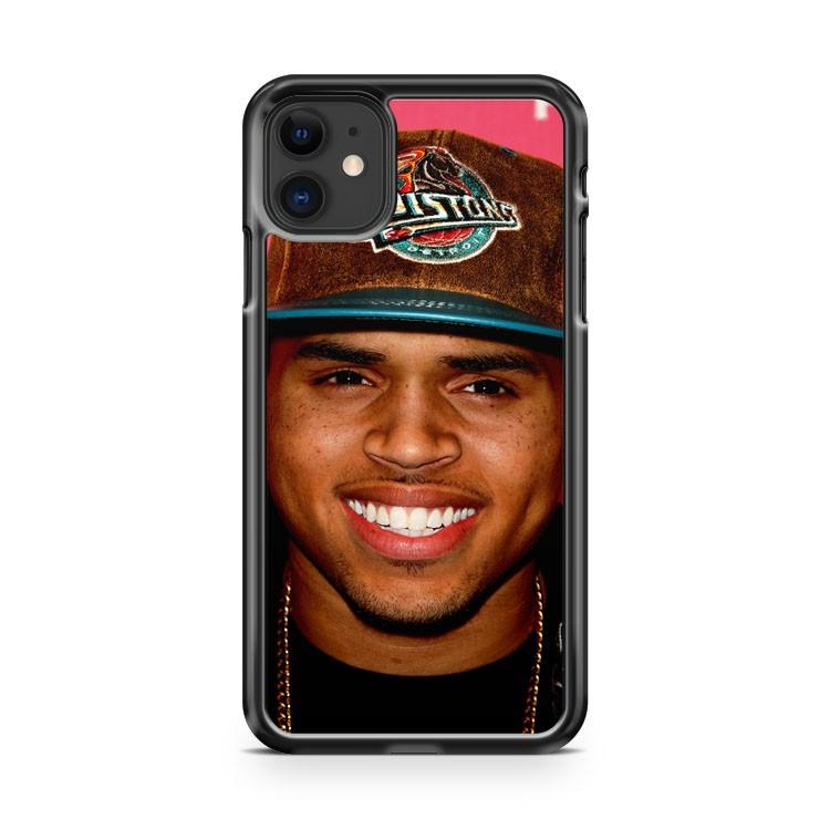 chris brown smile 2 iphone 5/6/7/8/X/XS/XR/11 pro case cover
