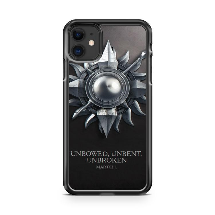 Game of Thrones House Martell iphone 5/6/7/8/X/XS/XR/11 pro case cover