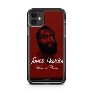 James Harden Houston Rockets 8 iphone 5/6/7/8/X/XS/XR/11 pro case cover