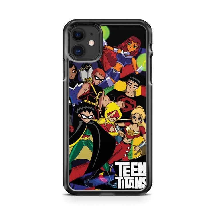 Teen Titans characters iphone 5/6/7/8/X/XS/XR/11 pro case cover