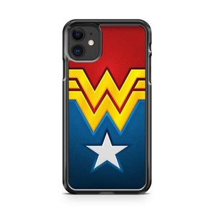 Wonder woman symbol iphone 5/6/7/8/X/XS/XR/11 pro case cover