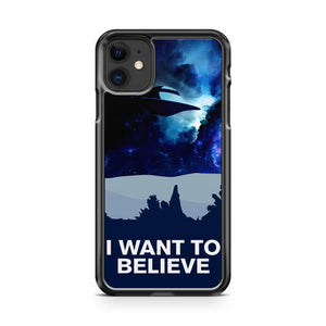 X FILES i want to believe iphone 5/6/7/8/X/XS/XR/11 pro case cover