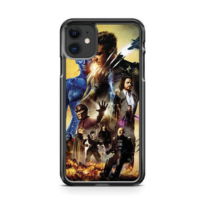 x men days of future iphone 5/6/7/8/X/XS/XR/11 pro case cover