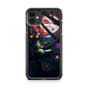 zelda mask skull kid iphone 5/6/7/8/X/XS/XR/11 pro case cover