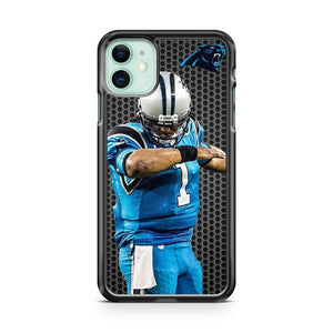 CAM NEWTON CAROLINA PANTHERS DAB iphone 5/6/7/8/X/XS/XR/11 pro case cover