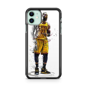 CLEVELAND CAVS LEBRON JAMES NBA iphone 5/6/7/8/X/XS/XR/11 pro case cover