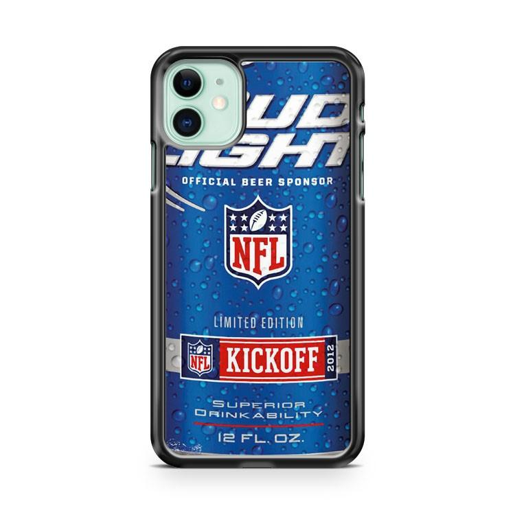 Bud Light NFL Kickoff Can Cold iphone 5/6/7/8/X/XS/XR/11 pro case cover - Goldufo Case