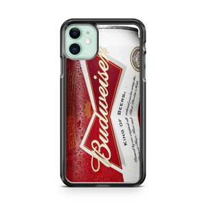 Budweiser Can King of Beer iphone 5/6/7/8/X/XS/XR/11 pro case cover - Goldufo Case