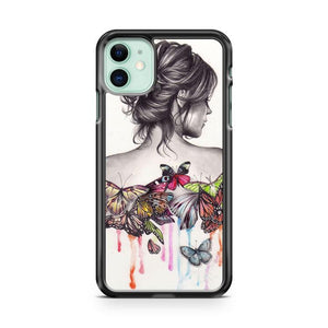butterfly effect iphone 5/6/7/8/X/XS/XR/11 pro case cover