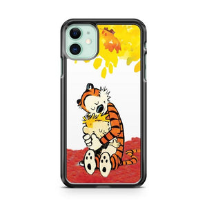 Calvin and Hobbes Hugs 2 iphone 5/6/7/8/X/XS/XR/11 pro case cover