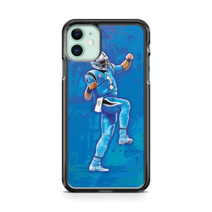Cam Newton Dab Art 3 3 iphone 5/6/7/8/X/XS/XR/11 pro case cover