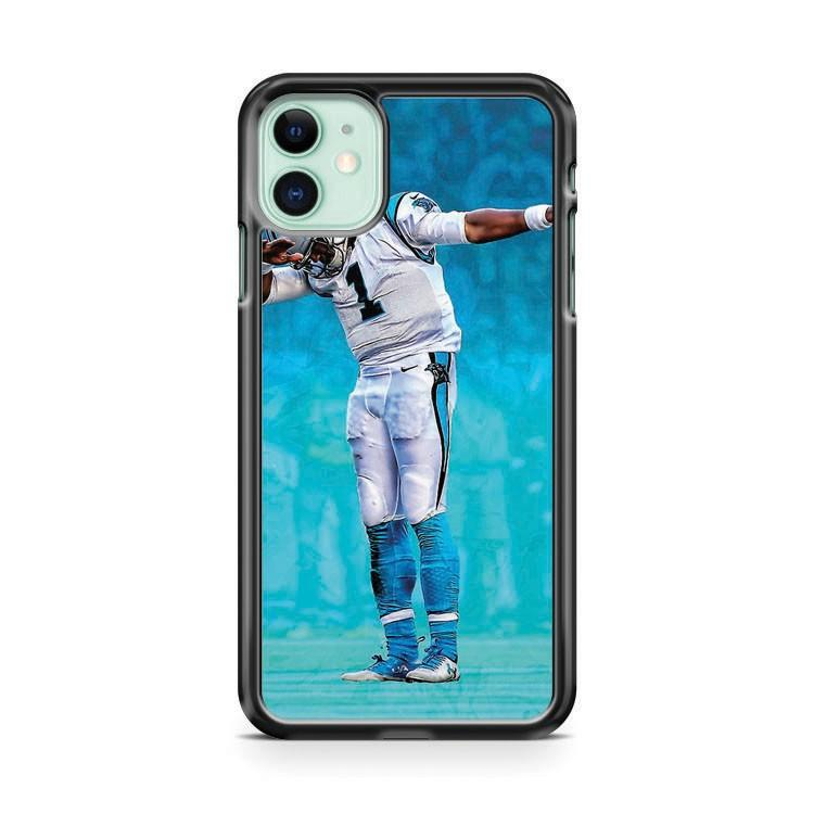 Cam Newton Dab 4 iphone 5/6/7/8/X/XS/XR/11 pro case cover