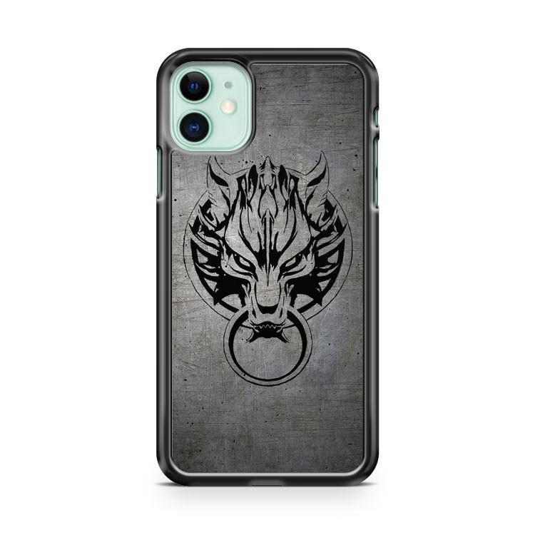 Cloud Strife s Wolf Emblem iphone 5/6/7/8/X/XS/XR/11 pro case cover