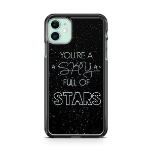 Coldplay a sky full of stars iphone 5/6/7/8/X/XS/XR/11 pro case cover