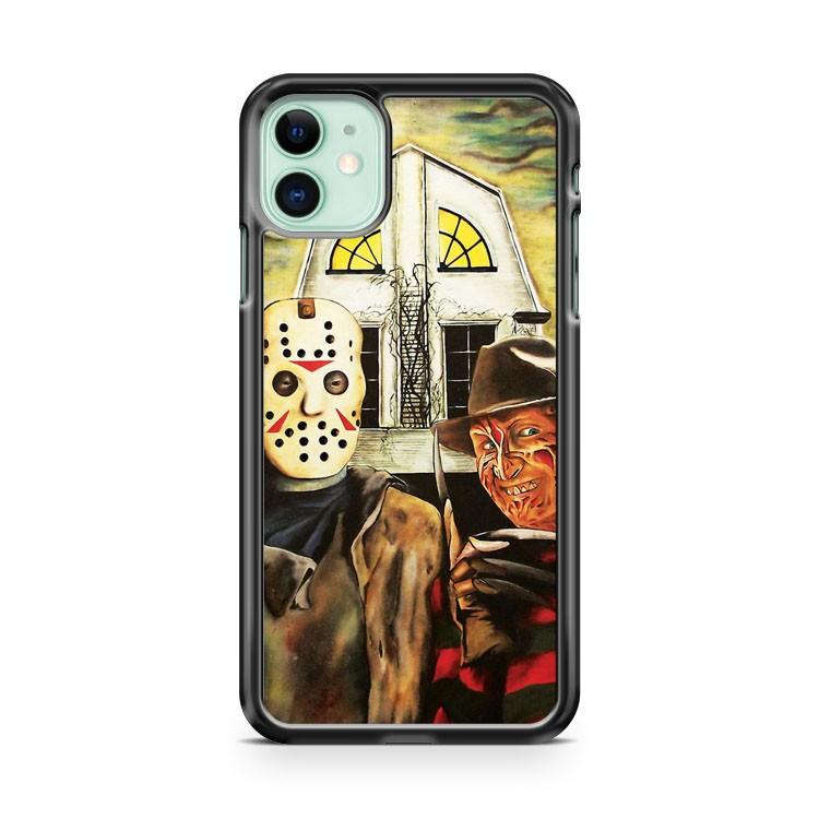 Jason Friday The 13th 9 iphone 5/6/7/8/X/XS/XR/11 pro case cover