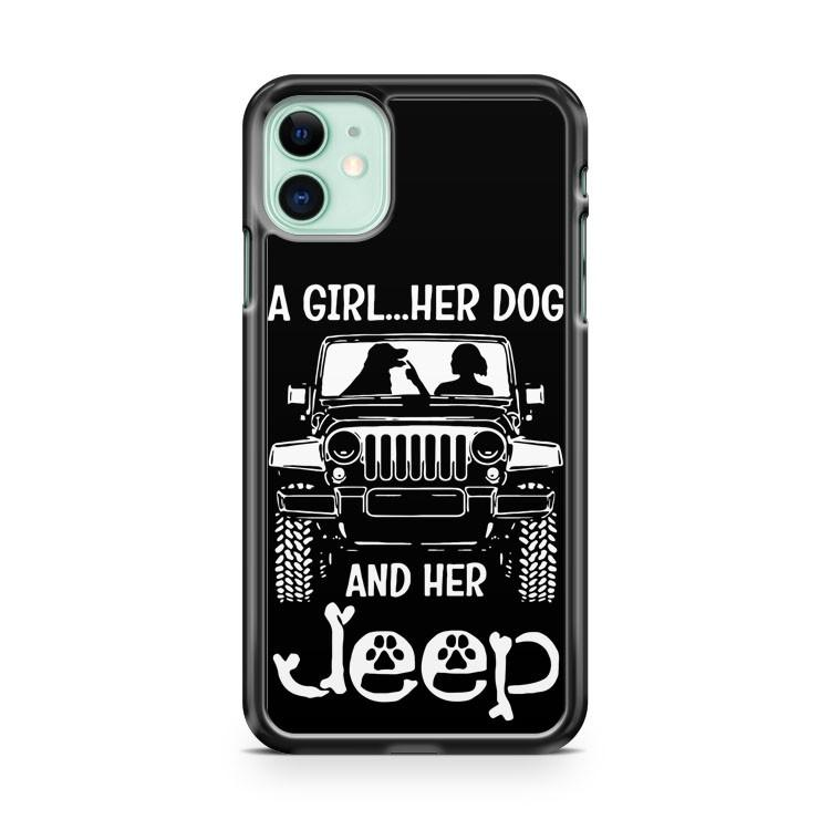 Jeep Girl iphone 5/6/7/8/X/XS/XR/11 pro case cover