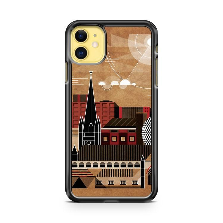 Brum Cityscape iphone 5/6/7/8/X/XS/XR/11 pro case cover