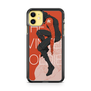 Bucky Winter Soldier iphone 5/6/7/8/X/XS/XR/11 pro case cover - Goldufo Case