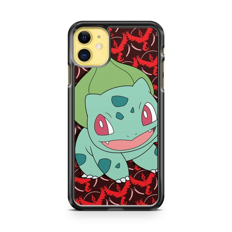 bulbasaur Team Valor iphone 5/6/7/8/X/XS/XR/11 pro case cover