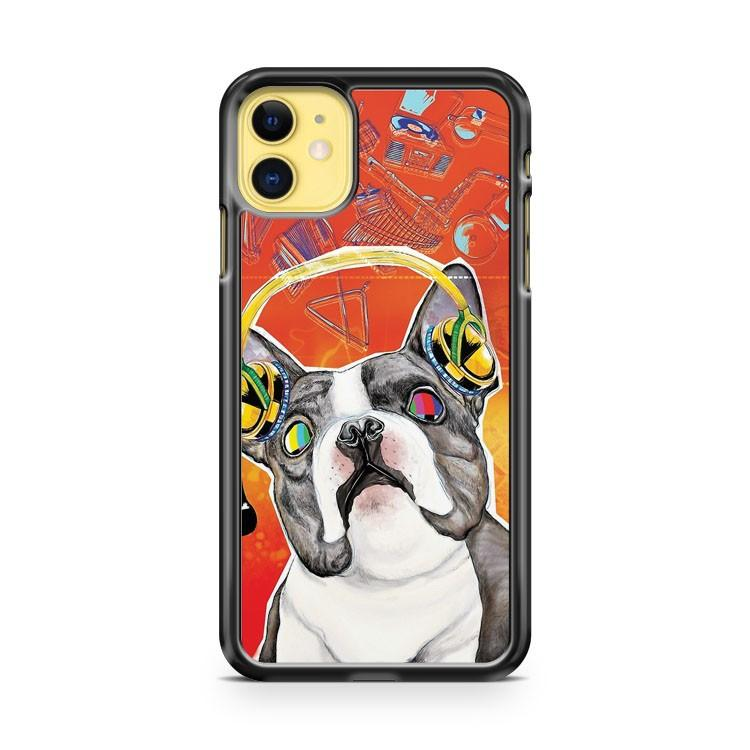 Bulldog iphone 5/6/7/8/X/XS/XR/11 pro case cover